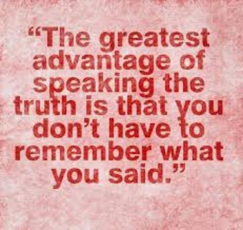 Speak Truth.....