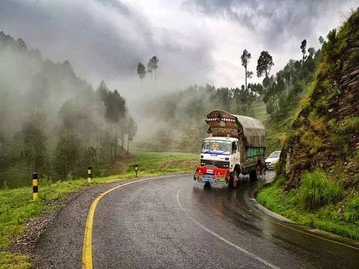 Beautiful Mansehra Road, Abbottabad, KPK