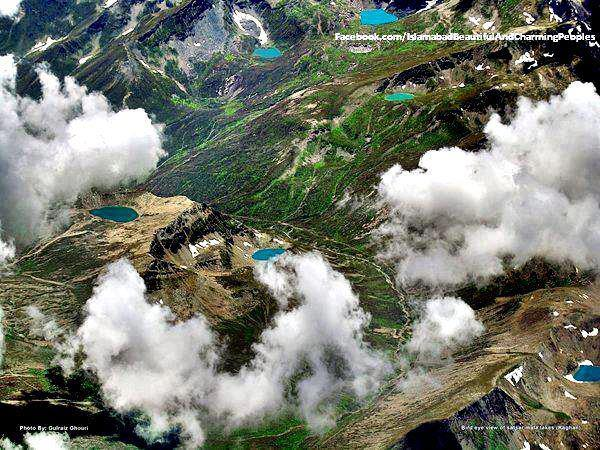 Breathtaking aerial view of Kaghan Valley