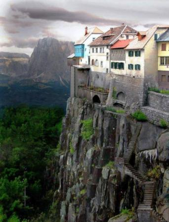Cliff-side Dwellings of Ronda, Spain