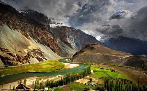 Phander, Ghizer Valley, GB, Pakistan