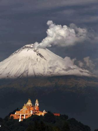 Popocatepetl Volcano, Mexico
