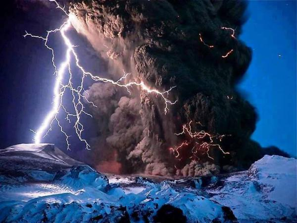 The destructive power of nature