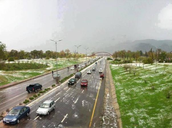 Welcome Winter - Islamabad after rain n hailstrom