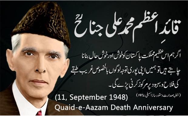 11 September Quaid-e-Azam Death Anniversary
