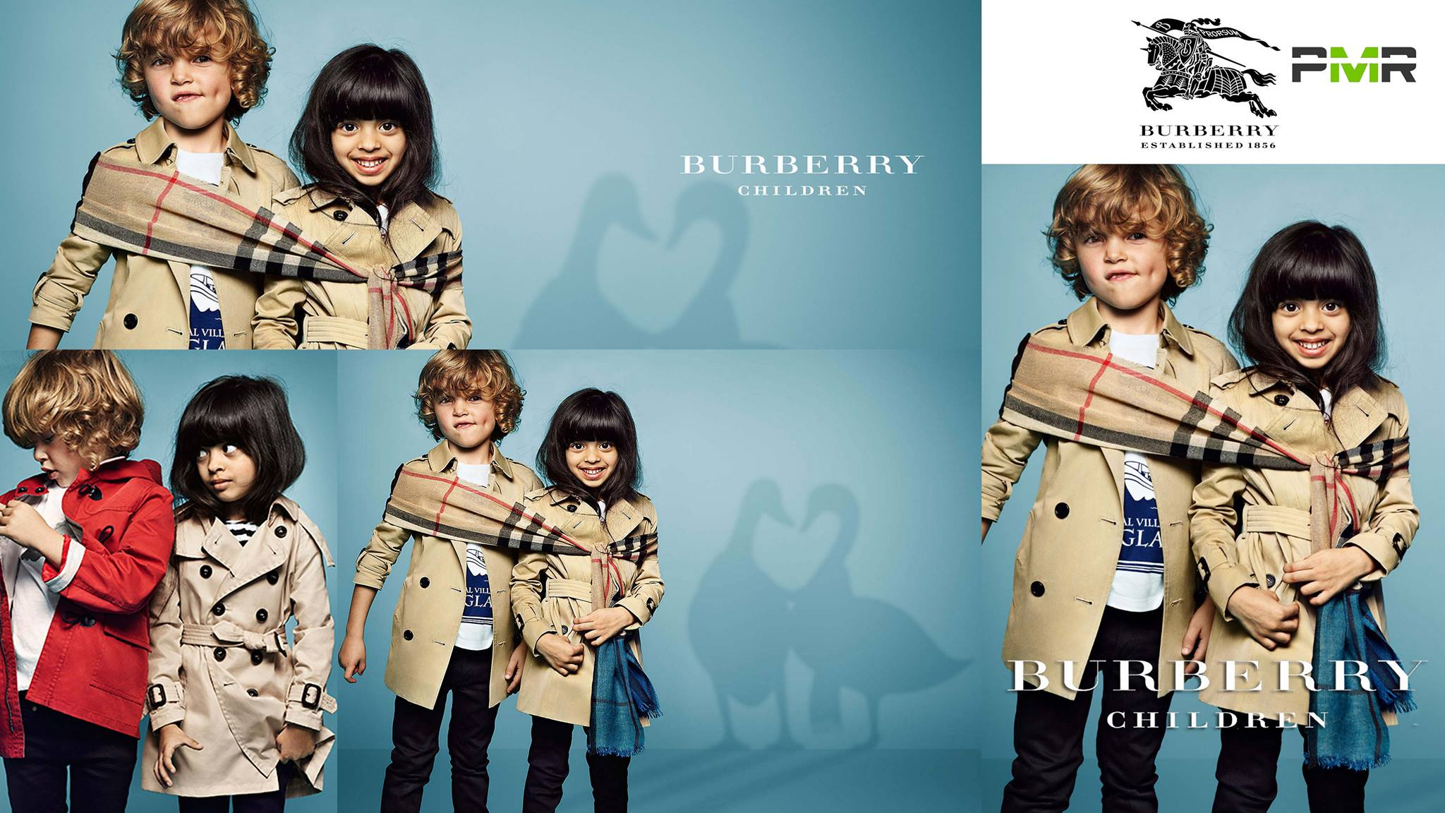 5 years old Laila Naim Became first Pakistani to model for Burberry