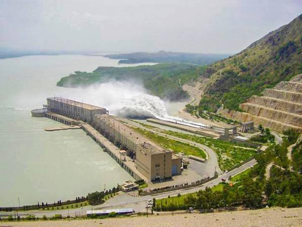A Beautiful view of Tarbela Dam, Pakistan