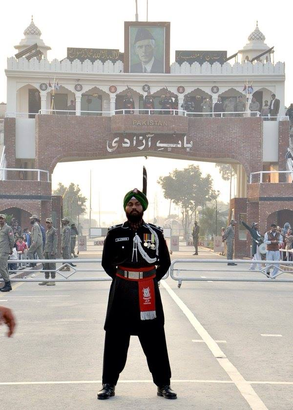 AJ-Singh is the new guardian at Wagah. ‪