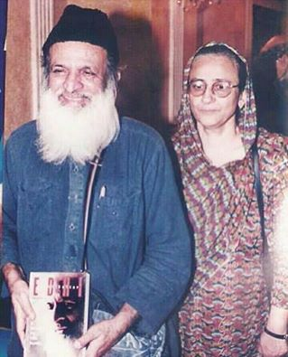 Abdul Sattar Edhi‬ With Bilqees Edhi