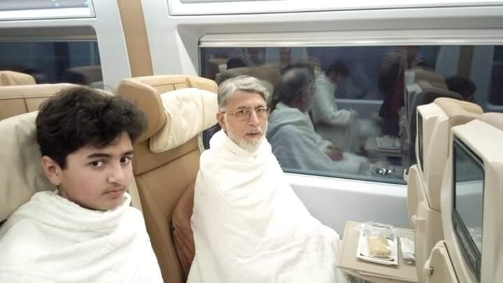 Allama Tahir Ul Qadri Going Makkah To Perform Umrah