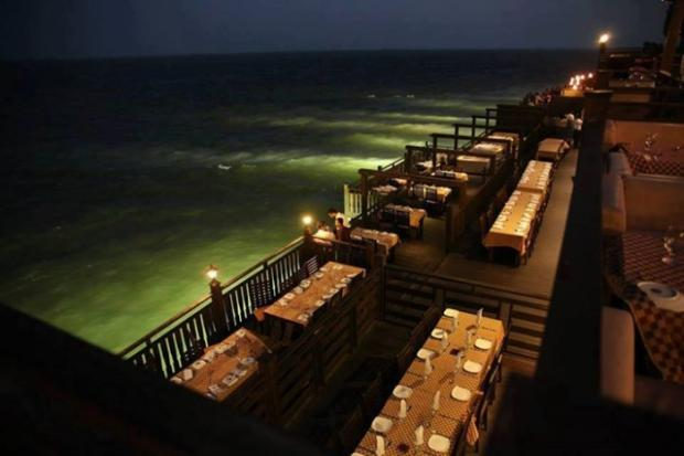 Amazing View of Restaurant at DOO Darya, Karachi