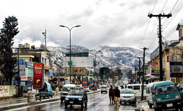 Amazing view of Mansehra Road, Abbottabad, Pakistan