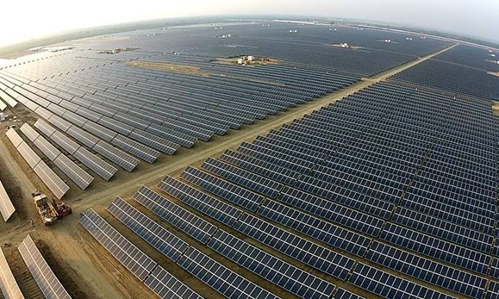 An Aerial View of Quaid e Azam Solar Power