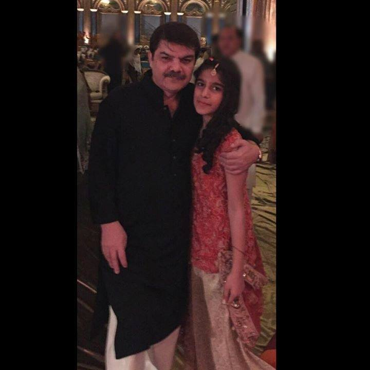 Anchor & Journalist Mubashir Luqman With His Daughter Fajar