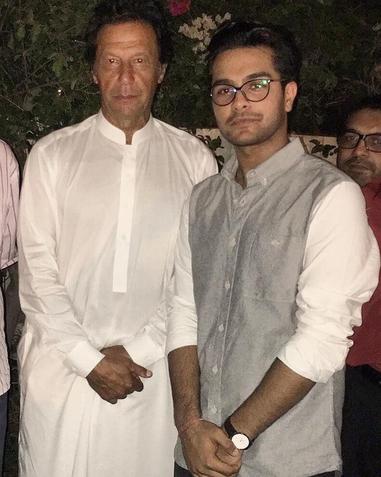 Asim Azhar With Imran Khan