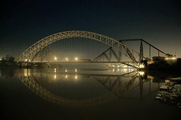 Beautiful Sukkar Bridge, Sukkar, Pakistan