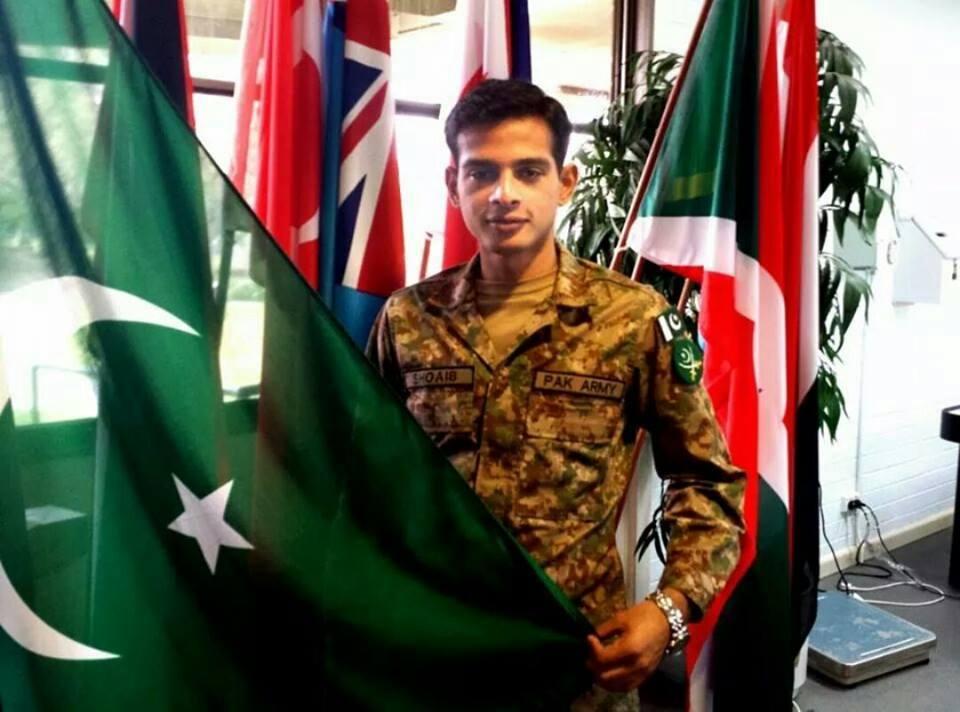 GC Shoaib Malkera Awarded Best Overseas Cadet