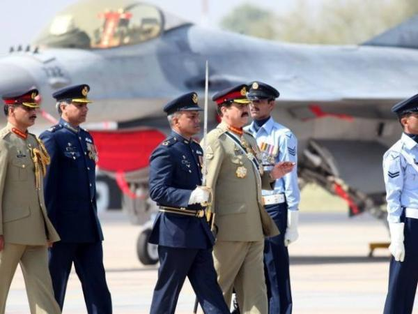 General Raheel Shareef At Induction Ceremony For New F-16 Fighter Air Crafts