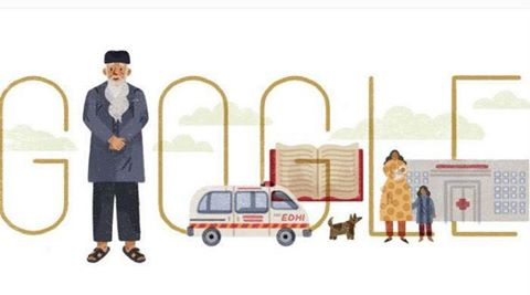 Google Paid Tribute To Abdul Sattar Edhi
