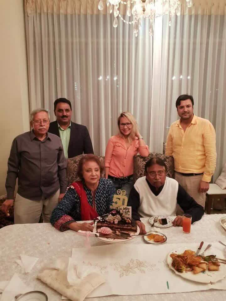Happy 50th Marriage Anniversary To General Pervez Musharraf