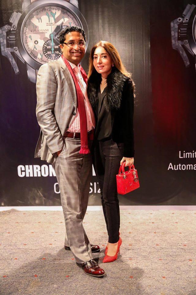 Hashim Riaz & Sharmila Farooqi