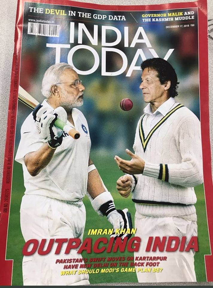 Imran Brought Modi On The Back Foot