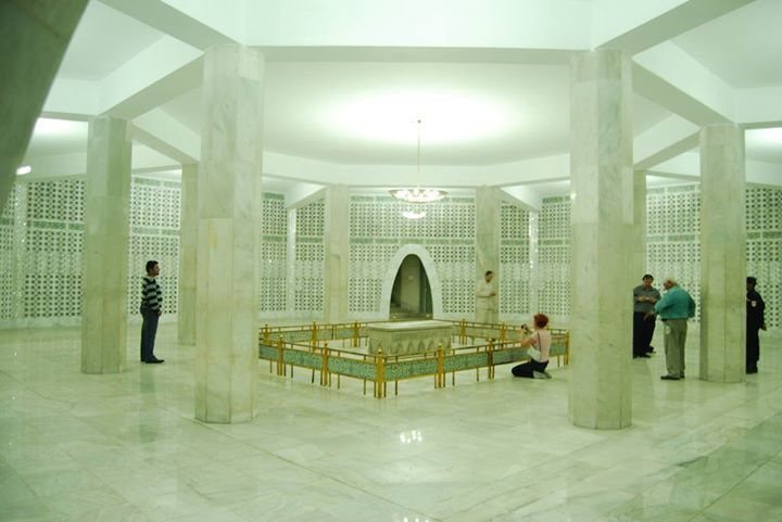 Inner view of Mazar e Quaid ‎Karachi‬