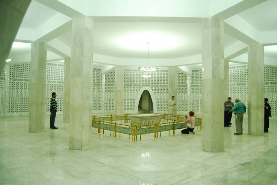 Inside view Mazaar-e-Quaid ‪Karachi‬
