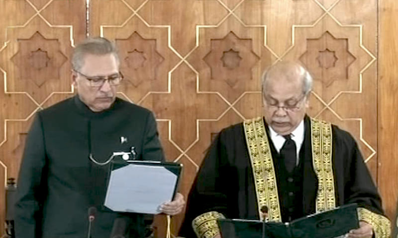 Justice Gulzar Ahmed Took Oath As The 27th Chief Justice Of Pakistan