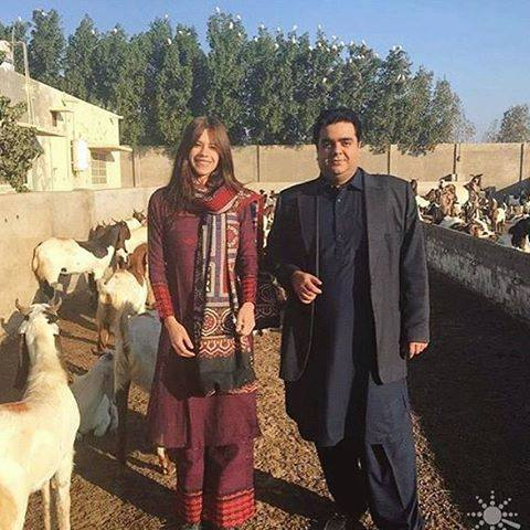 Kalki Koechlin Spotted Visiting Badin & Wearing Ajrak