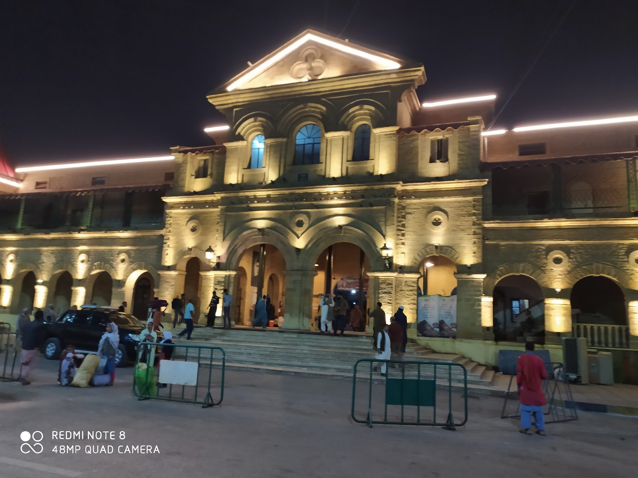 Karachi Cantt Station At Night After Renovation