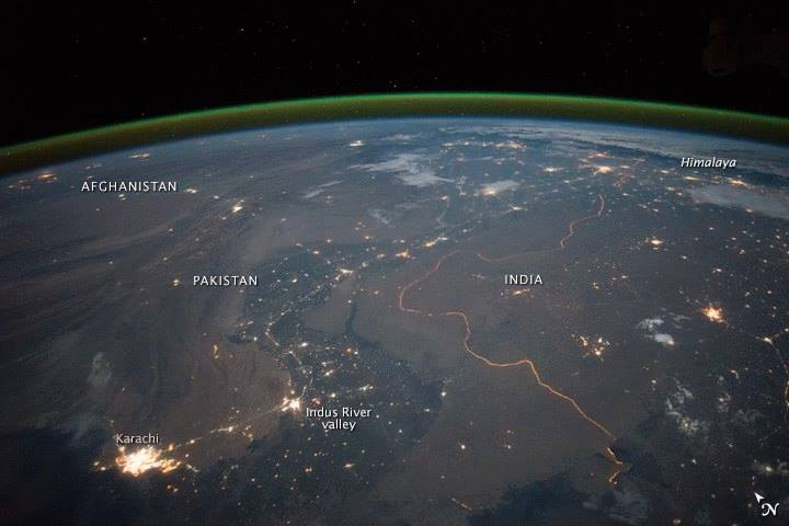 Karachi the city of Lights by NASA
