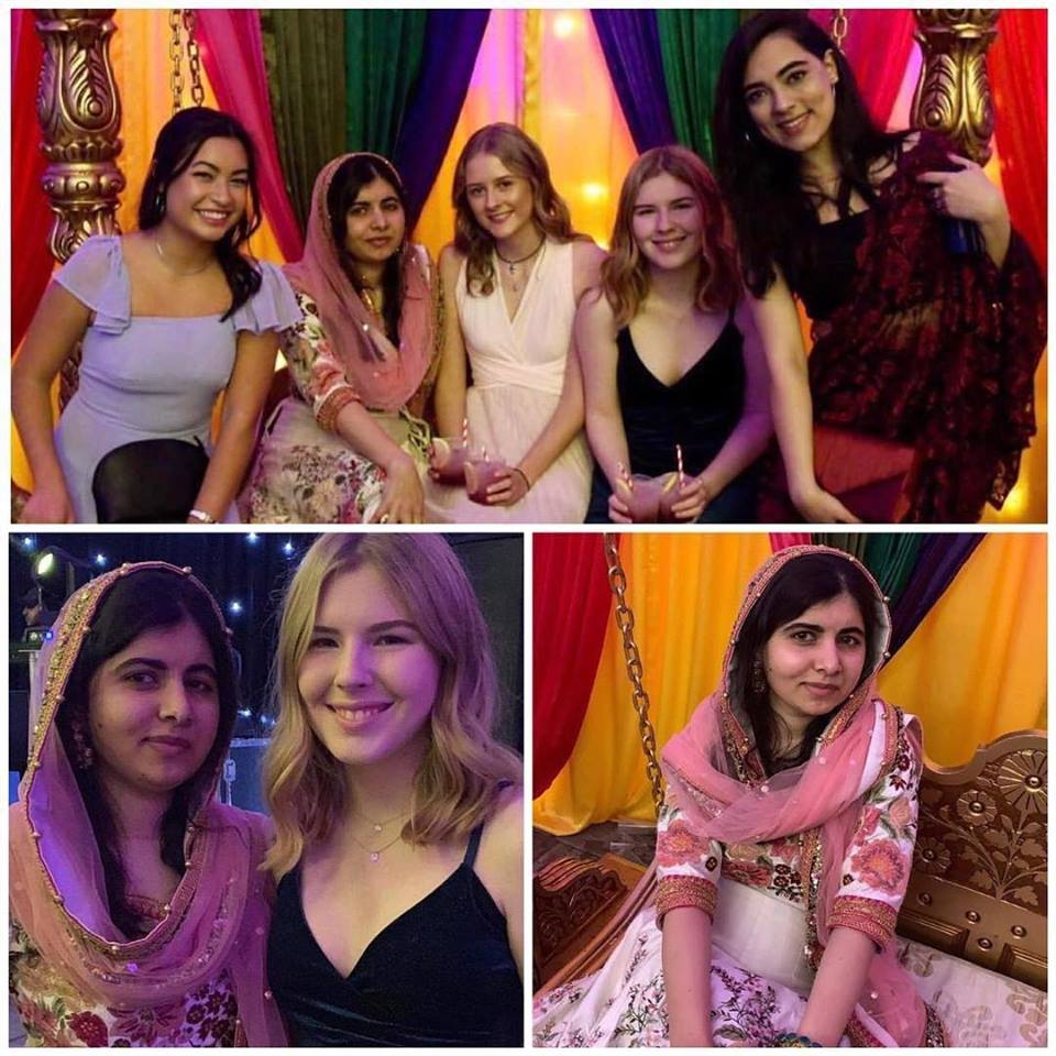 Malala Celebrating Diwali With Her Friends