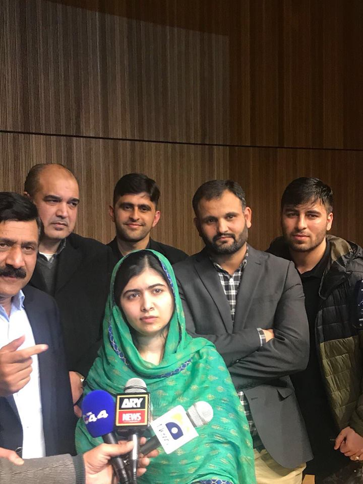 Malala Yousafzai Has Arrived In Pakistan After 6 Years For 4 Days Visit
