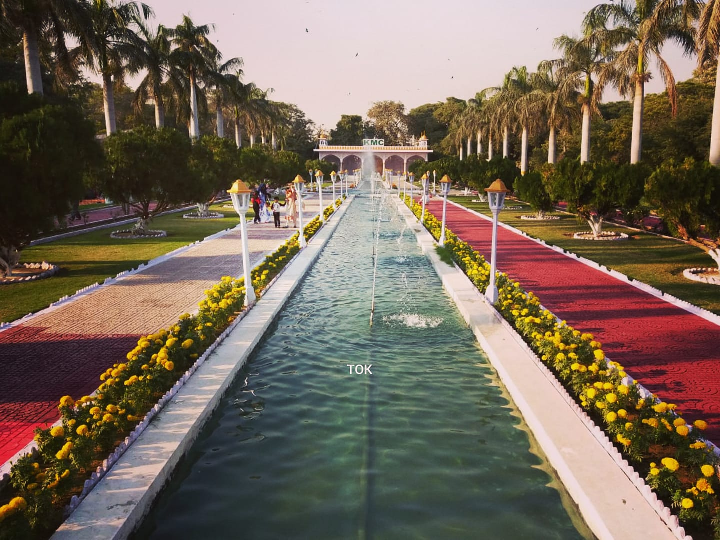 Mayor Karachi Wasim Akhtar Inaugurated The Newly Renovated Mughal Garden In Karachi Zoo