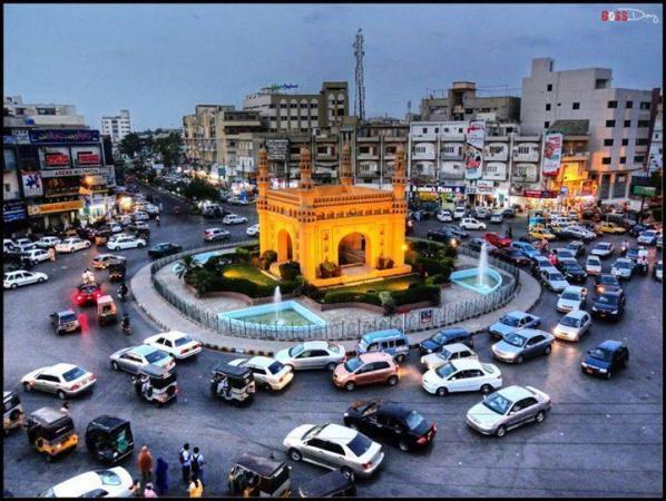 Minar Chowrangy, Bahadurabad Karachi