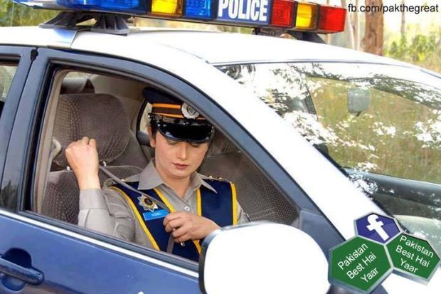 Motorway Police, Pakistan