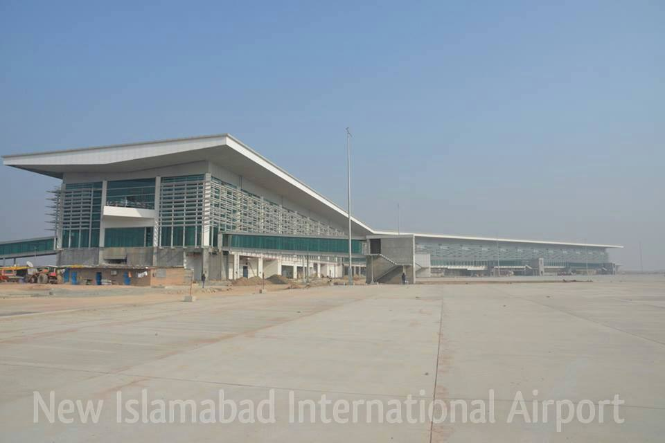 New Islamabad Airport Work in Progress