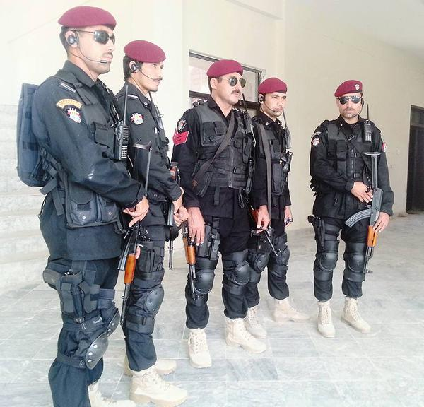 New Look of Special Combat Unit (SCU) Boys of KPK