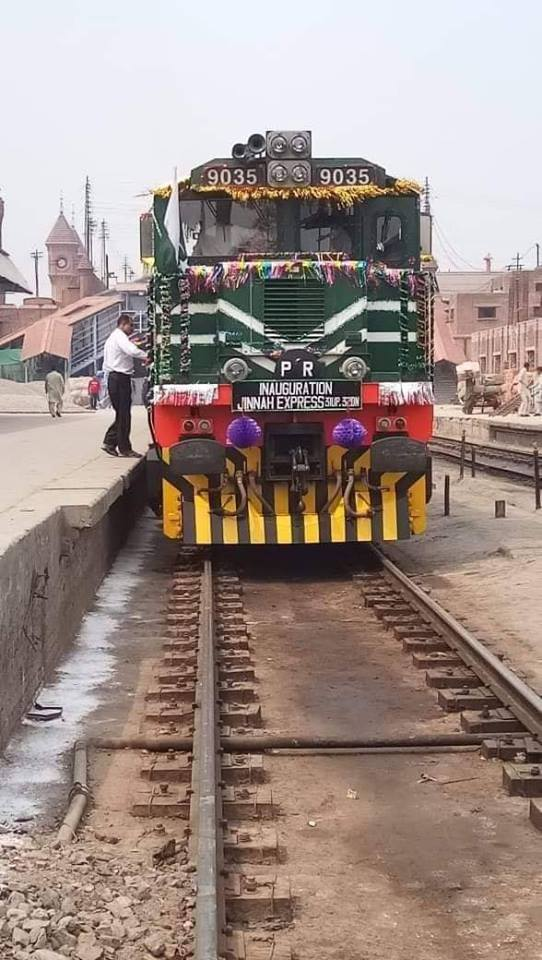 Pakistan's Most Luxurious Train Recently Launched Jinnah Express