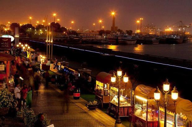 Port Grand Food Street, Karachi, Pakistan