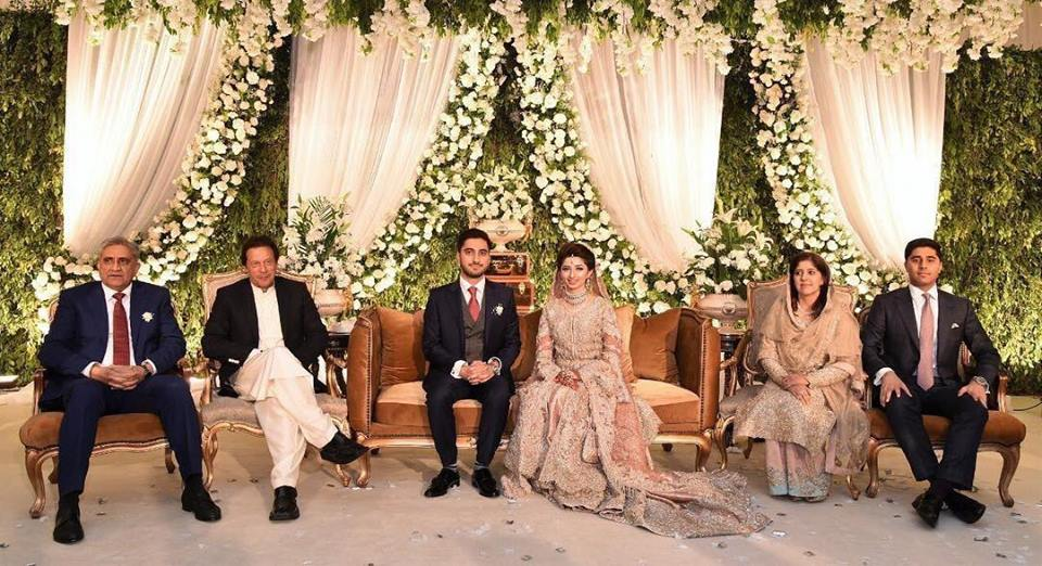 Prime Minister Imran Khan Attend The Wedding Reception Of General Bajwa's Son