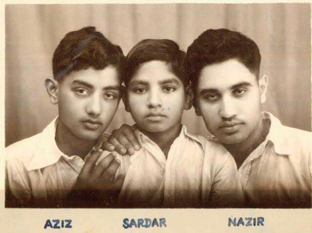 Rare Childhood Photo of Major Aziz Bhatti Shaheed