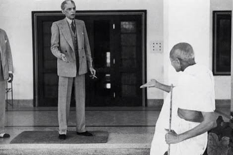 Rare Picture Of Quaid-e-Azam & Gandhi
