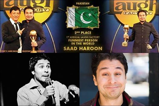Saad Haroon Stands 2nd In World Funniest Person Contest