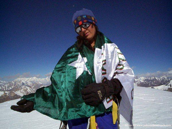 Samina Baig scaled Mount Everest