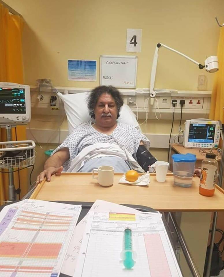 Sarfraz Nawaz Admitted To Hospital In London
