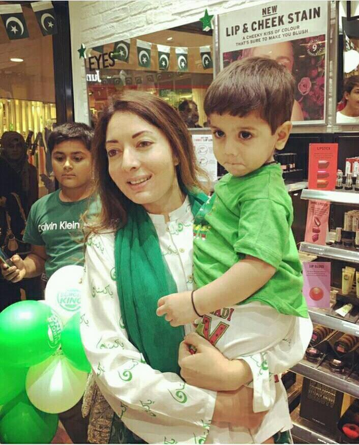 Sharmila Farooqi‬ Celebrating 14th August