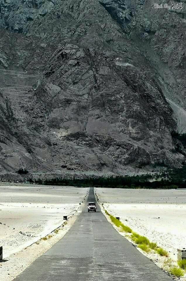 Shighar Road, Baltistan, Pakistan