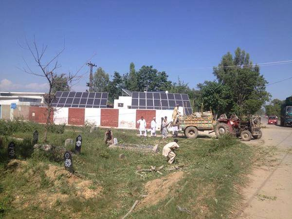 Solar Power Tubewells In Marghuz Swabi